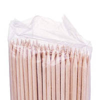 Деревянные палочки для маникюра 178*3.8 мм YM-519 100шт/уп
