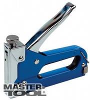 Mastertool Степлер металлический синий 4-14 мм, Арт.: 41-0905