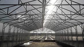 Теплицы Митлайдера 6х6 под поликарбонат стандарт 10 мм (ширина 6 метров)