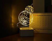 Купить настольный LED светильник Звездные войны