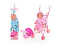 Детский функциональный пупс с коляской горшочком и бутылочкой
