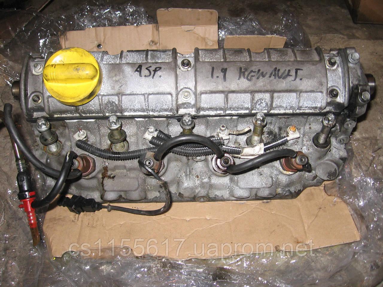 Головка блока цилиндров б/у 1.9D на Renault: Megane, Kangoo, Clio 2 год 1998-2016