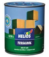 Helios TESSAROL напівматовий акриловий лак
