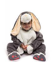 Костюм Зайчик - малыш серый (6 мес - 2.5 лет)