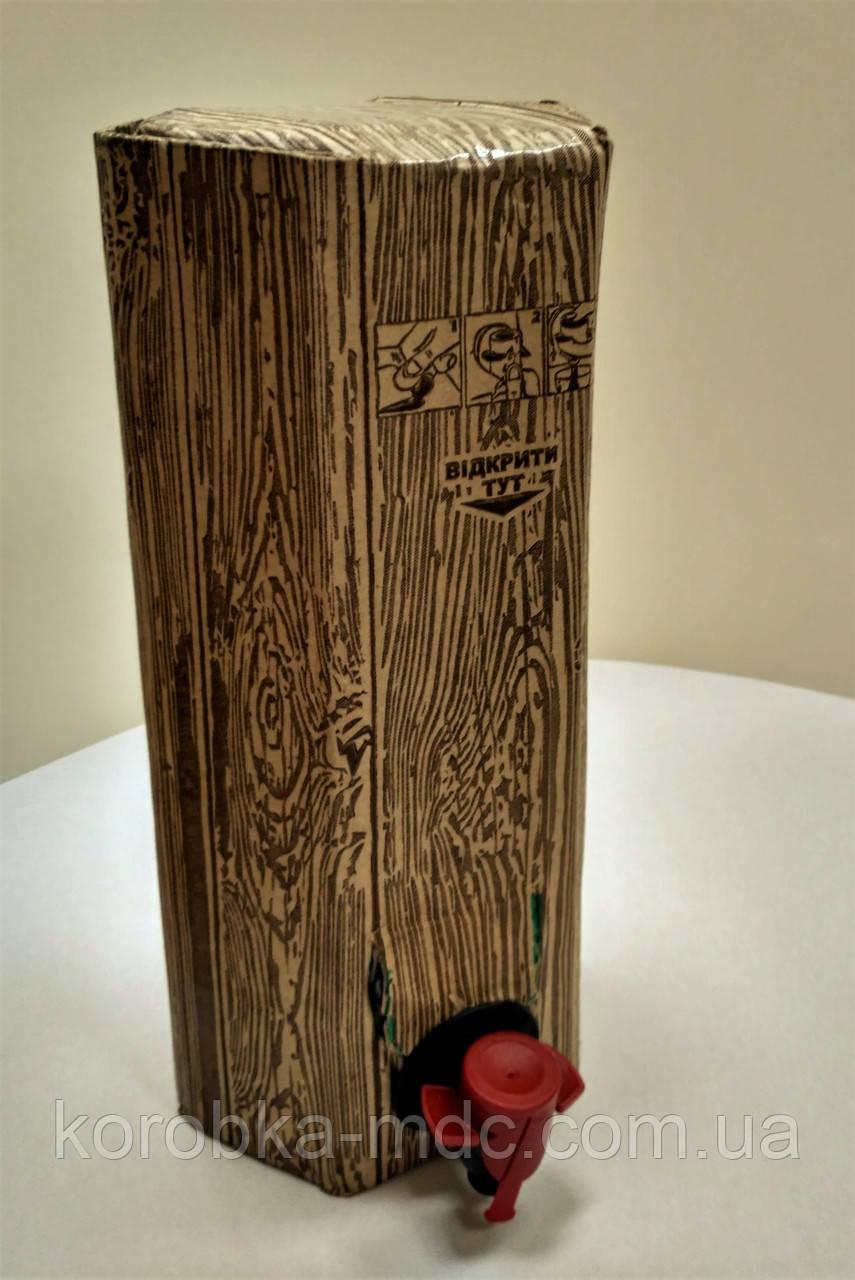 Коробка 2 л шестигранная дерево Бег ин Бокс_0216
