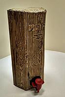 Коробка 2 л шестигранная дерево Бег ин Бокс_0216, фото 1