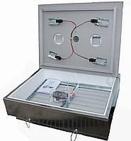 Инкубатор бытовой оцинкованный Наседка ИБМ-140 с механическим переворотом яиц