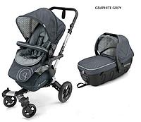 Детская универсальная коляска 2 в 1 Concord Neo (люлька Sleeper 2.0) 2016 Graphite grey