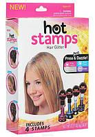 Цветная Печать - Штамп для украшения волос Hot Stamps