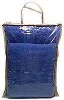 Набор полотенец в упаковке (банное и лицевое)
