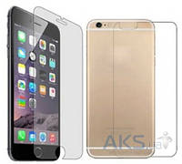 Защитное стекло Tempered Glass Apple iPhone 6, iPhone 6S (экран + задняя крышка)
