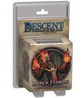 Спуск: Странствия во тьме: Мерик Фарроу (миниатюра) (Descent (2nd edition): Merick Farrow Lieutenant Miniature) настольная игра