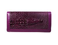 Женский лакированный кошелек Dragon цвет фиолетовый