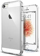 Чехол SGP Case Ultra Hybrid Apple iPhone 5, iPhone 5s, iPhone SE Clear (041CS20171)