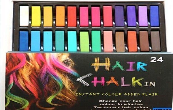 Мелки для волос Hair Chalking, 24 шт.