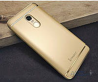 Чехол iPaky Joint Series Xiaomi Redmi Note 4 Gold