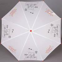 Детский зонт Zest Раскраска с фломастерами Мишка (механика), арт. 21581-3