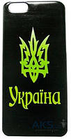 Чехол Украина Apple iPhone 6, Apple iPhone 6S Герб Украины черный