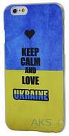 Чехол Украина Apple iPhone 6 Plus, Apple iPhone 6S Plus Keep Calm and Love Ukraine