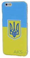 Чехол Украина Apple iPhone 6 Plus, iPhone 6S Plus Флаг и Герб Украины 1