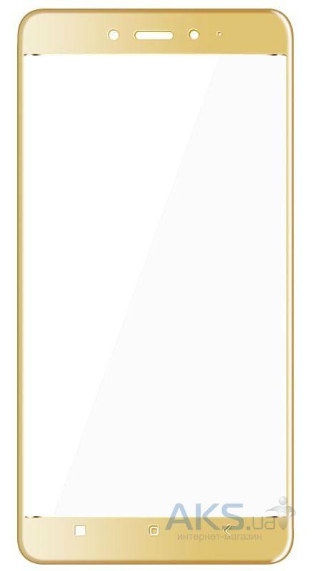 Защитное стекло 1TOUCH 3D Full Cover Xiaomi Redmi Note 4 Gold