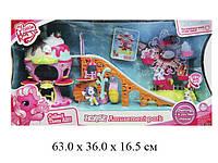 Домик для пони с горкой и каруселькой My Little Pony 733