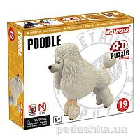 Объемный пазл 4D Master Собака Пудель 26537