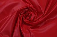 Ткань Плащевка лаке Красная