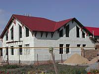 Строительство  дома в Киевской области  из газобетона - газоблока, ячеистого блока