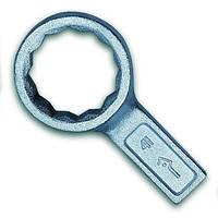Ключ накидной одностор. коленчатый  24мм (Камышин)