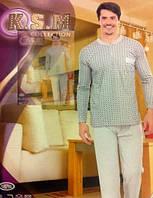 Мужская пижама теплая Ромб