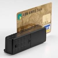 Mini 400 считыватель магнитных карт с памятью, портативный ридер магнитной полосы, фото 1