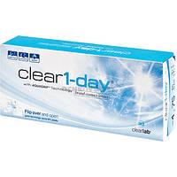 Контактные линзы на 1 день Clear 1 day 30 шт