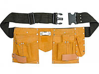 Пояс монтажный коженый Top Tools 79R401