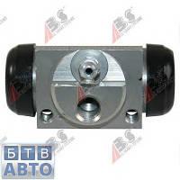 Циліндр тормозний задній Fiat Doblo (алюміньовий менший) 2000-2011 (ABS 62895), фото 1