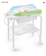 Детский пеленальный столик с ванночкой Cam Cambio 2017 2017 COL. 222