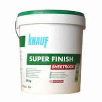 Шпаклевка Knauf Sheetrock Super Finish 28 кг