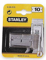 Запасные лезвия для скребка для стекол и керамических плит 40мм (скребок 0-28-500) (10шт.)  STANLEY