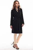 Кашемировое пальто в классическом черном цвете