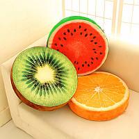 Декоративная подушка апельсин киви лайм апельсин дерево LSM