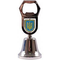 Сувенир - колокольчик с открывалкой (Герб Украины) UDB-8