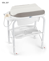 Детский пеленальный столик с ванночкой Cam Cambio Soft 2017 COL. 227