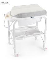 Детский пеленальный столик с ванночкой Cam Cambio Soft 2017 COL. 226