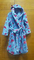 Махровый халат для девочек