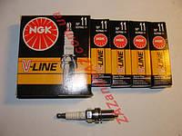 Свечи зажигания NGK №11 BCPR6E-11 2109-21099 2110-2112 16 кл.