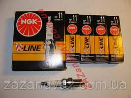 Свічки запалювання NGK №11 BCPR6E-11 Ланос 1.6 16 кл.