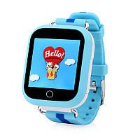 Смарт часы Q750,Детские часы Голубые, фото 1