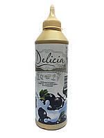Топпинг Delicia со вкусом смородины 600мл.