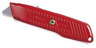 Нож 19мм трапеция 155мм выдвижное лезвие с возвратной пружиной     STANLEY 0-10-189