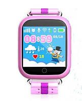 Детские часы Смарт часы Q750, Розовые, фото 1
